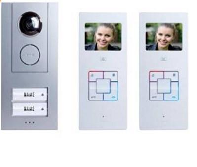Audio und Video Türsprechanlage Vergleich m-e GmbH modern-elec