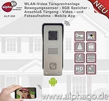 Funk und Wifi Türsprechanlage kaufen Alphago