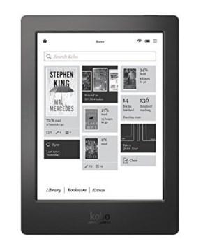eBook Reader Vegleich KOBO