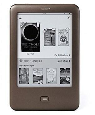 eBook Reader Vergleich tolino