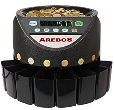 Geldzählmaschine Testbericht Arebos