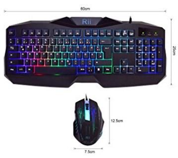 Gaming Tastatur Test 2 Rii