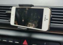 Handyhalterung für Lüftungsschlitz