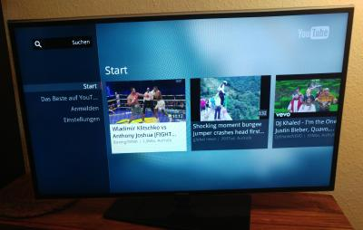 Smart TV Test Samsung