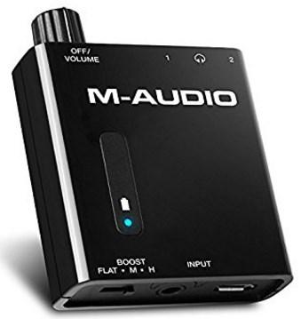 Kopfhörerverstärker Test 2 M-Audio