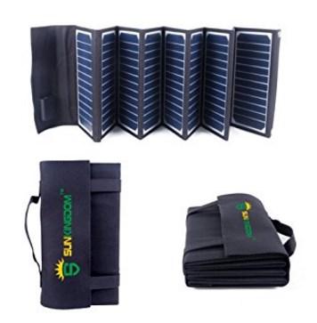 Solar Ladegerät Testbericht SUNKINGDOM