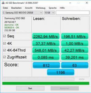 Samsung 960 EVO MZ-V6E250BW