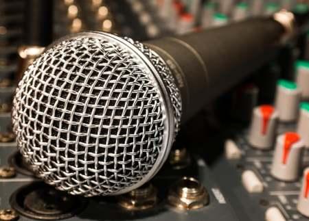 Gesangsmikrofon Test